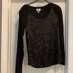 Old Navy Sequin Shirt